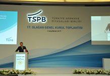 Türkiye Sermaye Piyasaları Birliği'nin 17. Olağan Genel Kurul Toplantısı Başbakan Yardımcısı Nurettin Canikli'nin katılımıyla yapıldı.