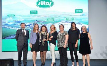 Sütaş, '2015 Sürdürülebilirlik Raporu' ile 'Kurumsal Raporlar' ödülünü alırken, 'Tire Entegre Tesisleri Açılışı İletişim Çalışmaları' ile de 'Jüri Özel Ödülü'ne layık görüldü.