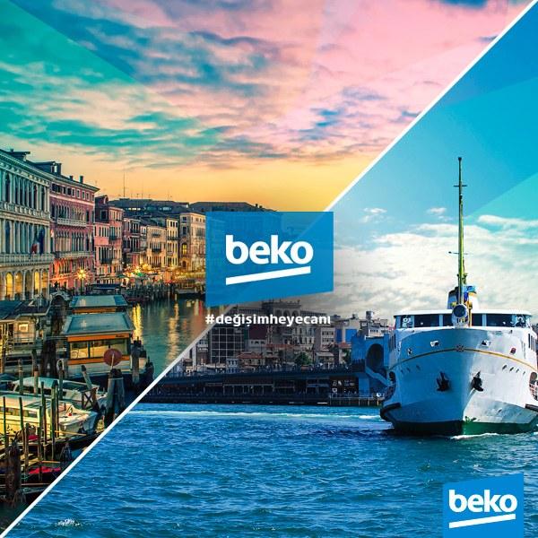 Beko ile birlikte yaşaman için seni de Değişim Heyecanı'na davet ediyor!