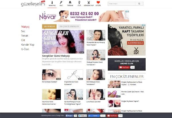 Neşe Koçinbiga Bayraktar tarafından üstlenilen Guzelleselim.com, tüm video içeriklerini kendi ekibi ile kendi stüdyosunda özgün olarak üretmektedir.